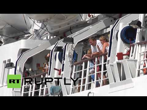Russia: Crimean cruise ship service to Istanbul resumes