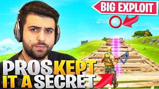 Exposing the HUGE Exploit Pros Kept SECRET for MONTHS... - Fortnite Battle Royale
