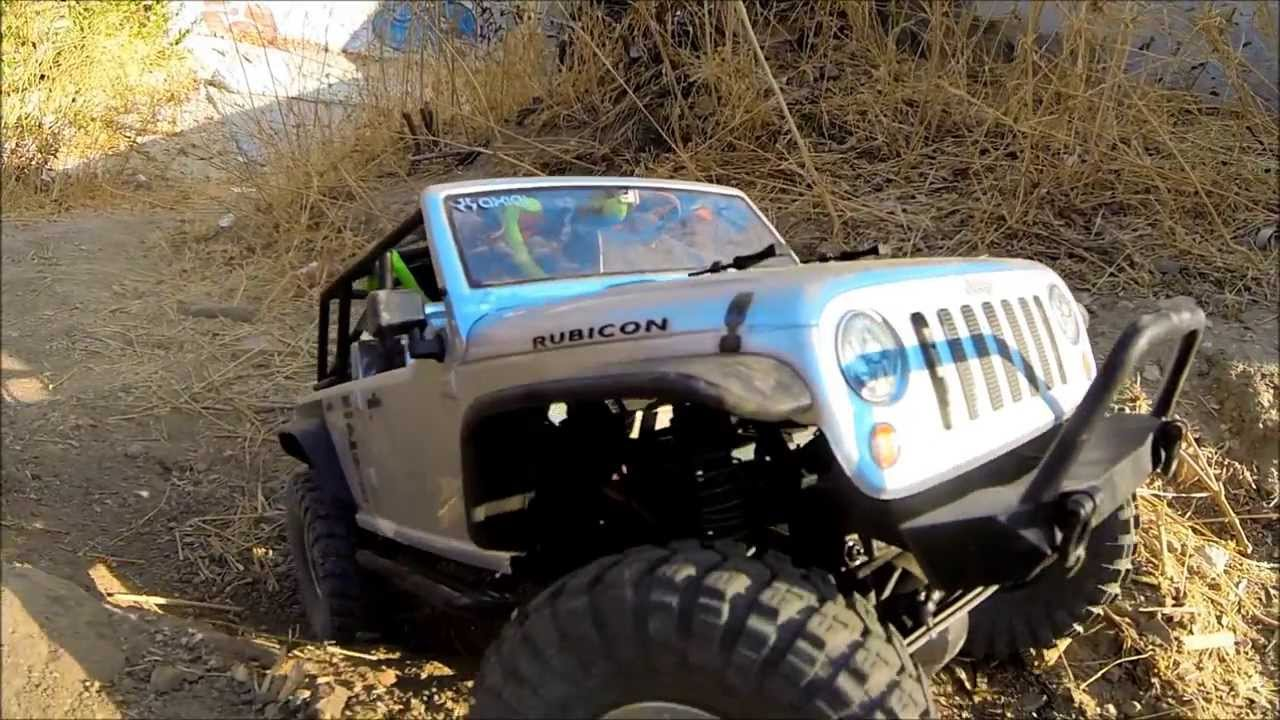 Rc Rock Crawler Axial Scx10 Jeep Wrangle Unlimited
