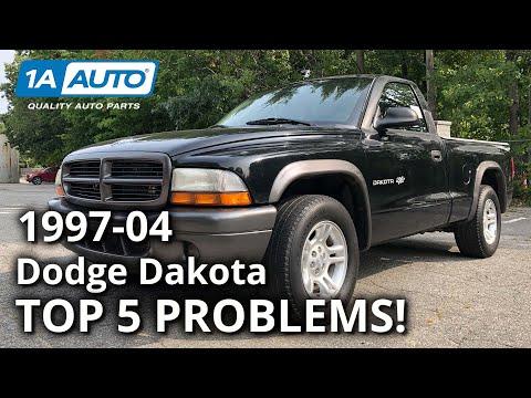 Top 5 Problems Dodge Dakota Truck 2nd Generation 1997-2004