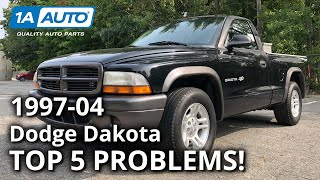 Top 5 Problems Dodge Dakota Tr…