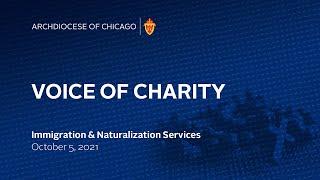 VOICE OF CHARITY — Live Radio Program, 10/5/2021