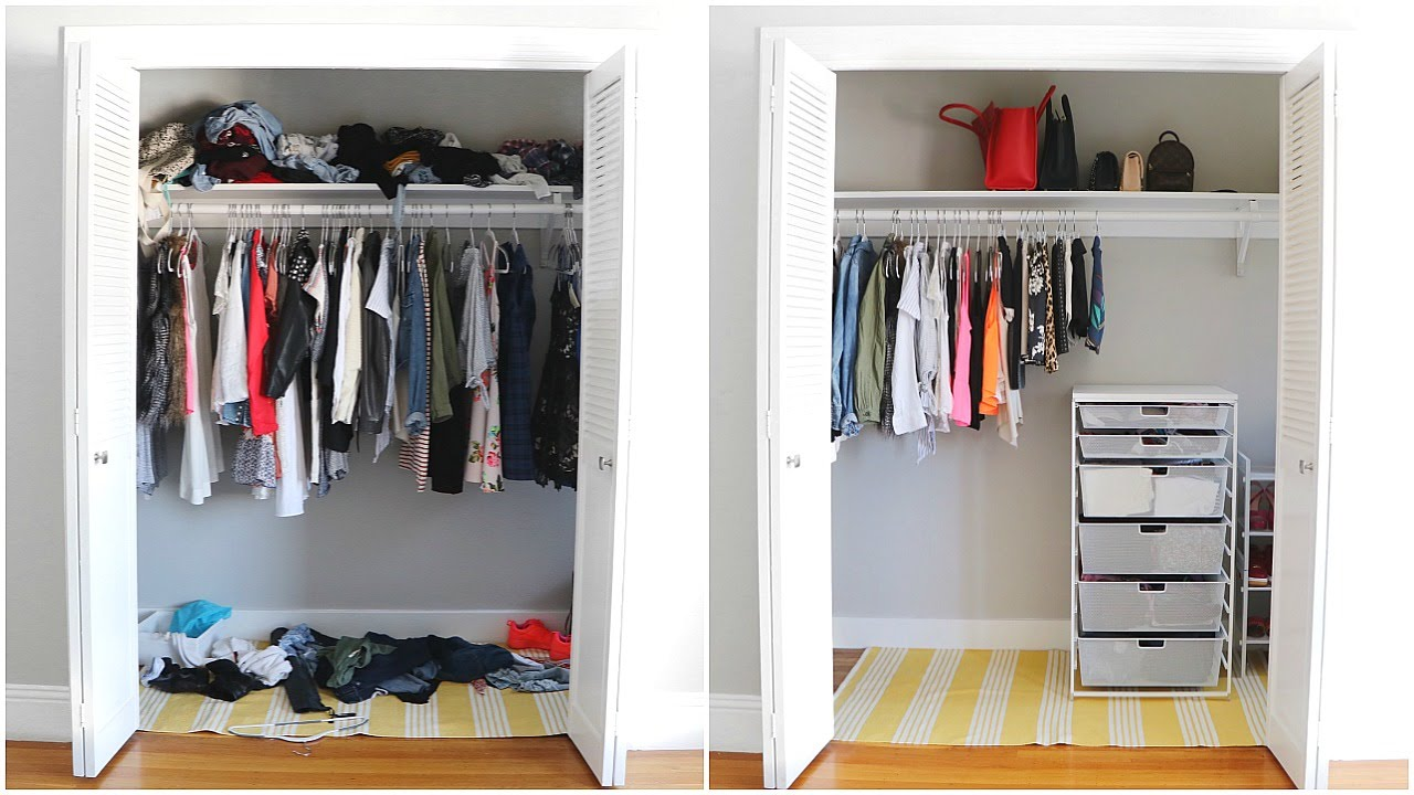 Closet Organization Closet Organization Before After