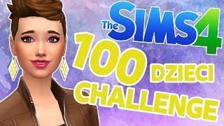 THE SIMS 4 CHALLENGE 100 DZIECI #22 Chaos wychowawczy | MissKremowka