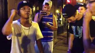 D-Pryde Cypher with River Fiacco (Albany, NY-The Hollow) August 10, 2013