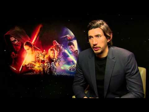 Star Wars The Force Awakens Interview - Adam Driver