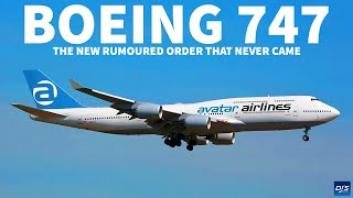 The Rumoured Boeing 747-8i Order