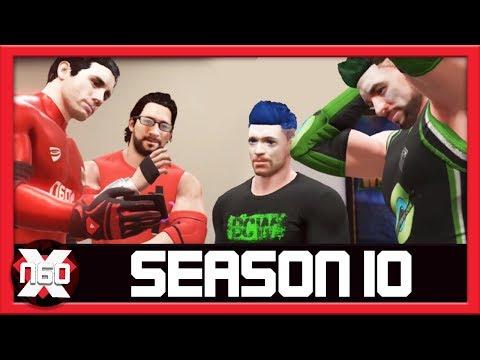 Season 10 : Heroes & Superstars Fatal 4 Way Ladder Match