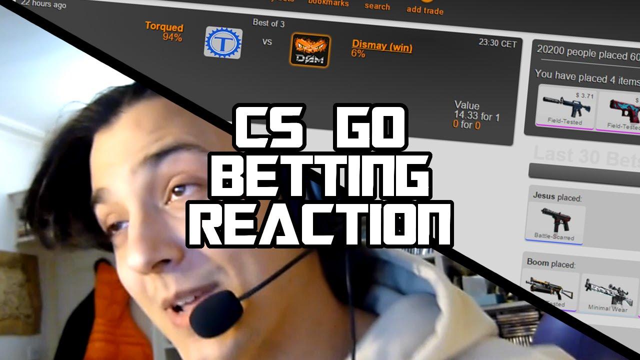 Cs go betting reaction euro 2021 group winners betting