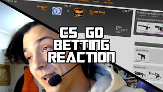 "EZ SKINS EZ LIFE 17 (CS GO BETTING REACTION) - ""The Lucky 6%"" (Funny Moments)"