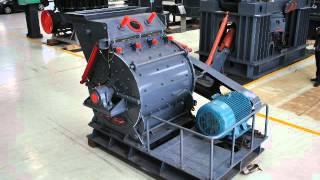 Iron-process iron ore mining blasting process
