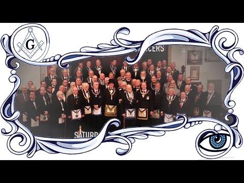 Masonic Documentation Series: Michigan Multi-Lodge Installation