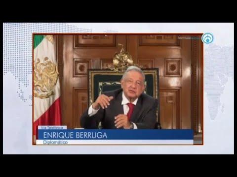 Discurso de AMLO en asamblea de la ONU fue una oportunidad desperdiciada: Enrique Berruga