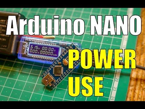 Arduino NANO Power & Current Consumption