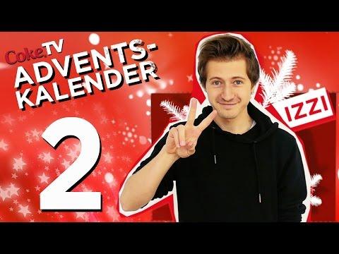 CokeTV Adventskalender: Türchen 2 mit izzi | #CokeTVMoment