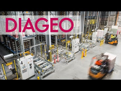 Diageo DC enables 'one-touch' supply chain strategy