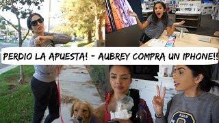 PERDIO LA APUESTA ! + AUBREY SE COMPRA SU 1ER IPHONE XS MAX!  vlogs - Vlogs diarios
