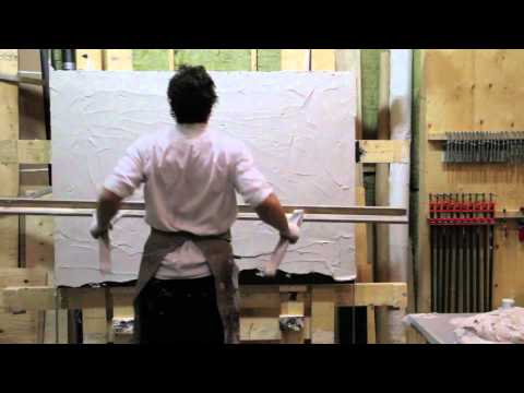 Adam Markovic- Line Painting In the Making