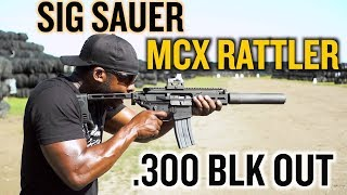 Sig Sauer MCX RATTLER | FIRST MAG REVIEW
