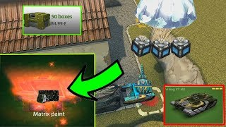 Tanki Online - Black Gold box Montage #15 + Viking XT for Free/ Opening Containers