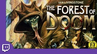 [Ep 1] FOREST OF DOOM! | Fighting Fantasy - Gameplay (Twitch Livestream)