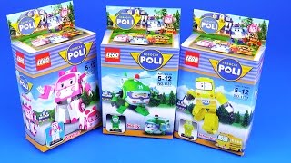 Robocar Poli Minifigures Lego toys