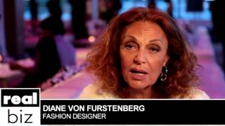 DVF Fashion Icon | Real Biz with Rebecca Jarvis | ABC News