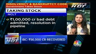 Government Takes Stock Of IBC