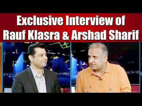 Exclusive Interview of Rauf Klasara & Arshad Sharif | Public Pulse with Zamir Haidar | 26 April 2019