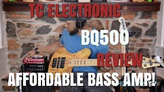 TC ELECTRONIC BQ500 Review - Jermaine Morgan  TV