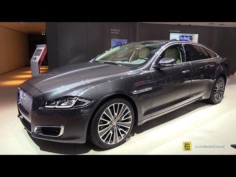 2017 Jaguar XJ 3.0L Diesel Autobiography LWB - Exterior Interior Walkaround - 2016 Paris Motor Show
