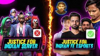 Mujhe Bhi Chahiye😁 Justice For Indian Server & Free Fire Esports - Au Esportz