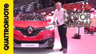 Renault Kadjar, la SUV-salotto | Salone di Ginevra 2015