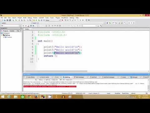 Simple input and output  printf , scanf , placeholder | C Programming Tutorials