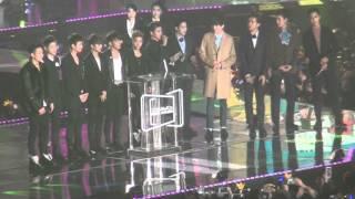 [직캠Fancam] iKON 아이콘  Male Rookie of the Year  @2015 Melon Music Awards