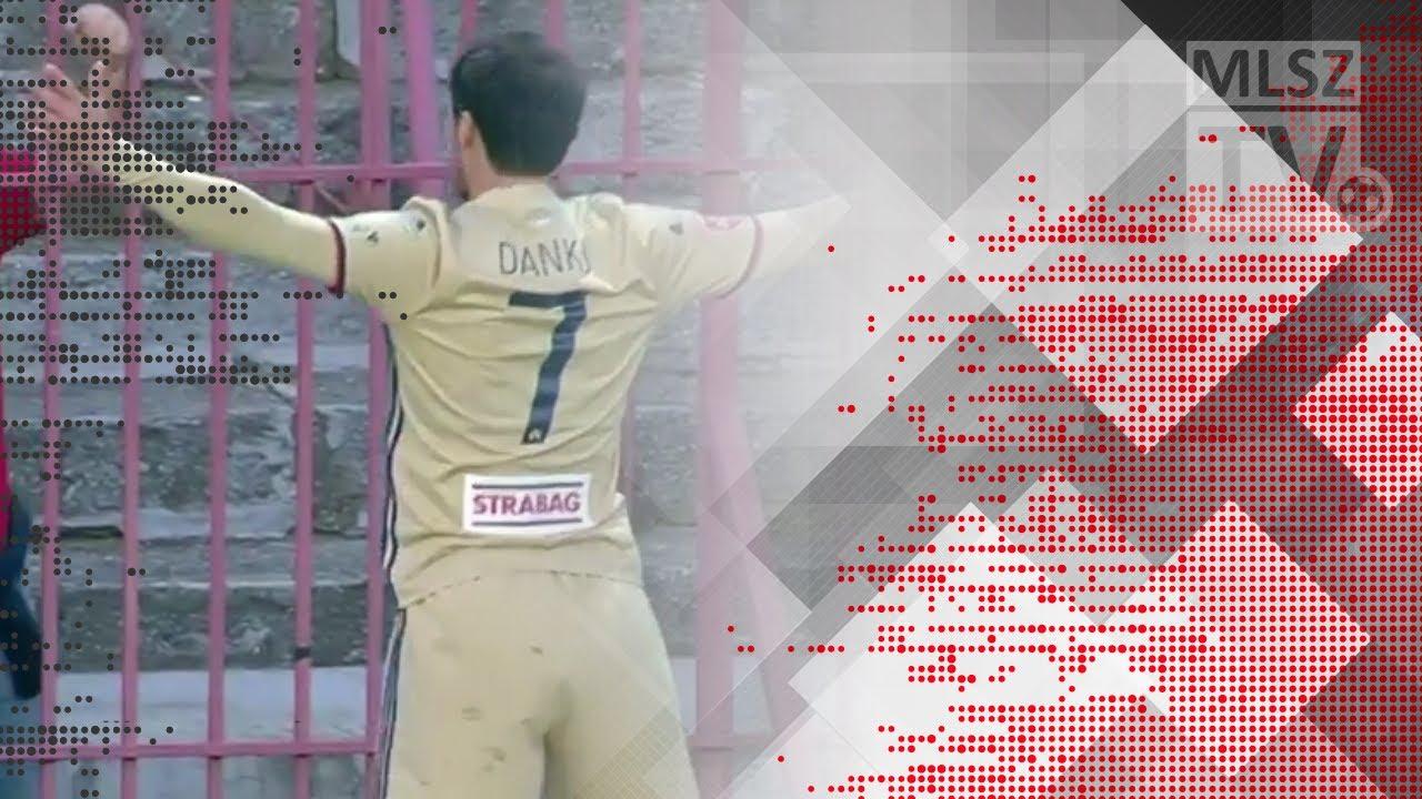 Lazovic Danko első gólja a Budapest Honvéd - Videoton FC mérkőzésen
