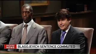 Gambar cover Ex-Illinois Gov. Rod Blagojevich sentence commuted