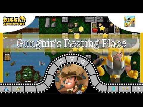 [~Odin~] #16 Gungnir's Resting Place - Diggy's Adventure