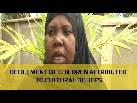 Defilement of children attributed to cultural beliefs