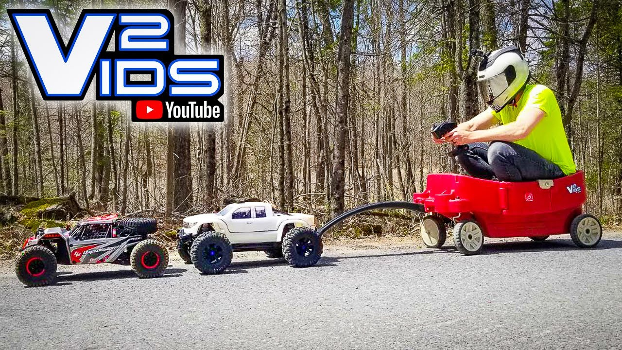 Traxxas Xmaxx LAND SPEED RECORD?