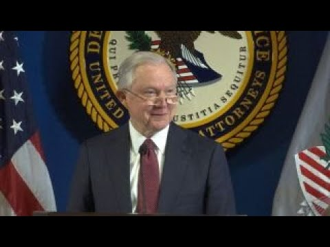 U.S. Attorney General announces new crime task forces