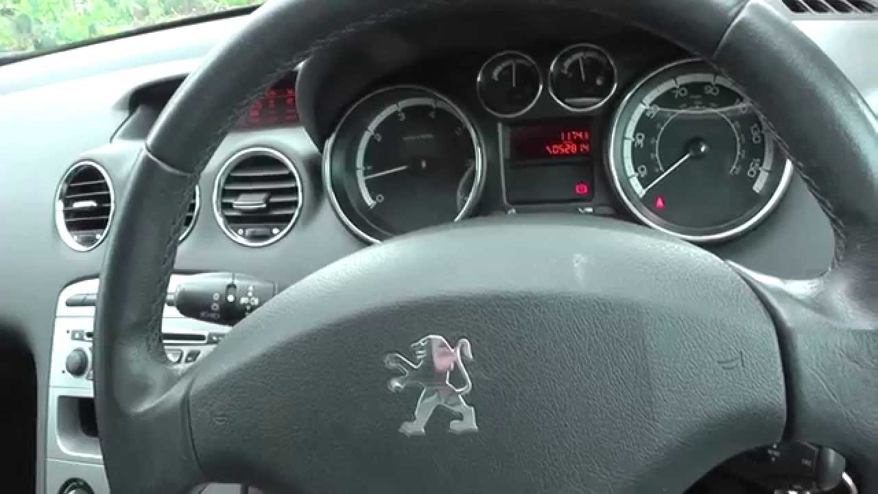 Peugeot 308 Interior Review Youtube