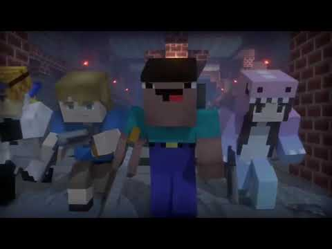 Клип Бада Бум Minecraft Server Hypixel Mini Game Zombie