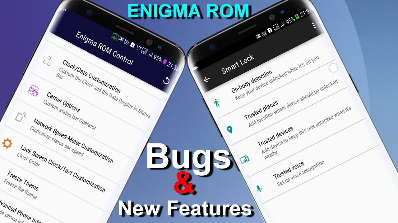 J2   ENIGMA ROM   Is There An Bugs & New Features ?