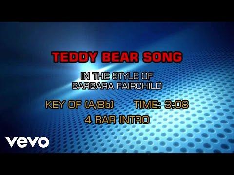 Barbara Fairchild - Teddy Bear Song (Karaoke)