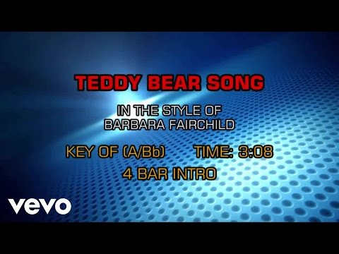 Barbara Fairchild - Teddy Bear Song (Karaoke)