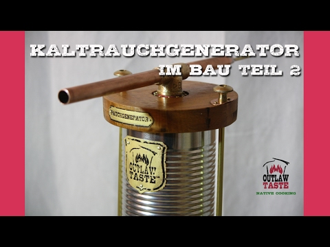 kaltrauchgenerator selber bauen teil 2 cold smoke generator youtube. Black Bedroom Furniture Sets. Home Design Ideas