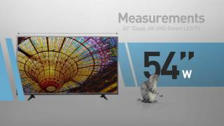 LG 60UH6150 4K UHD Smart LED TV - 60