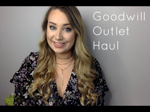 Goodwill Outlet Haul LIVE + Q&A
