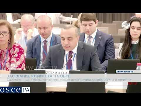 Ожесточенные дебаты состоялись между делегациями Азербайджана и Армении в ПА ОБСЕ